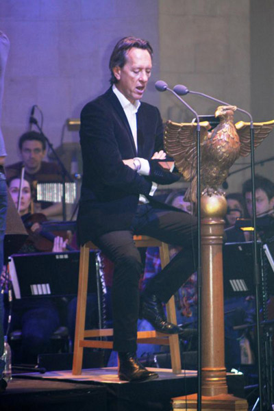 Triqueta1 400 Richard E. Grant Narrates Premiere At Guildford Cathedral
